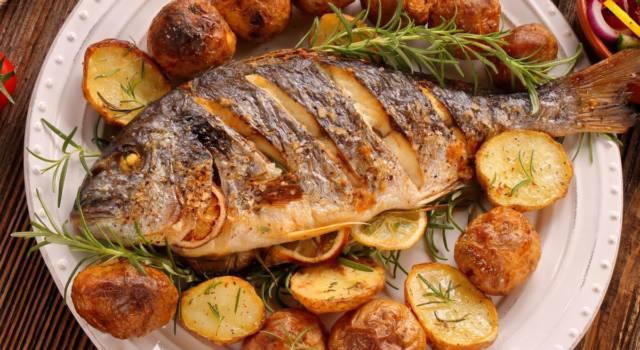 Cernia al forno con patate: la ricetta del secondo di pesce!