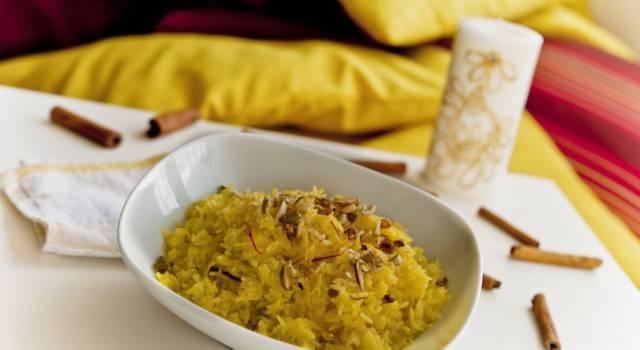 Riso zafferano e pistacchio: un primo piatto raffinato!