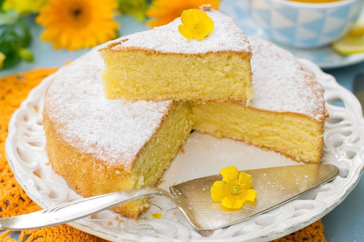 Torta margherita senza uova