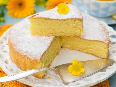 Sofficissima torta margherita senza uova né burro