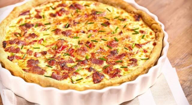Torta salata con patate e pomodori secchi sott'olio: prepariamola insieme!