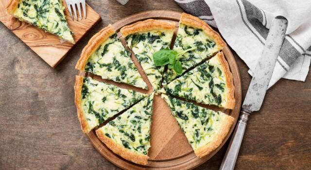 "Torta salata agli spinaci: un'ottima idea ""salva cena"""