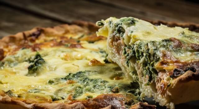 Ricetta della torta salata spinaci e salmone: un piatto unico buonissimo!