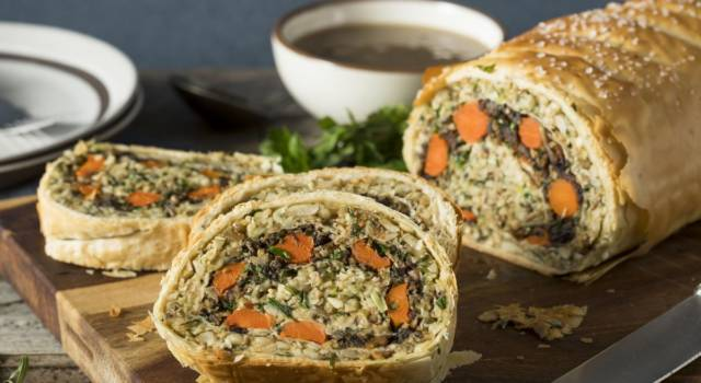 Wellington vegetariano: un buonissimo piatto unico salato