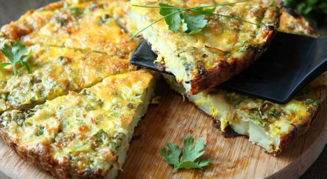Frittata con foglie di borragine: l'avete mai provata?