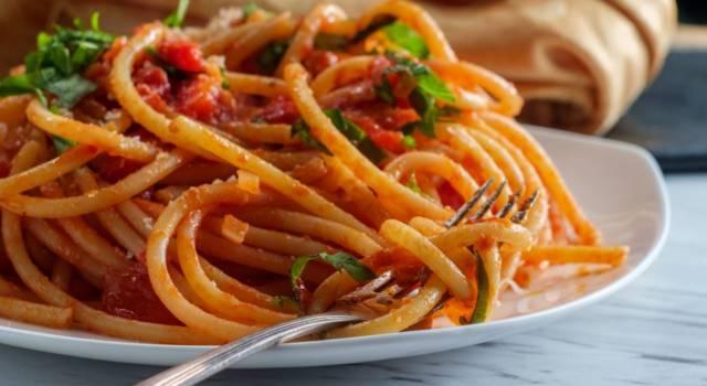 Come preparare un'ottima pasta all'amatriciana vegan?