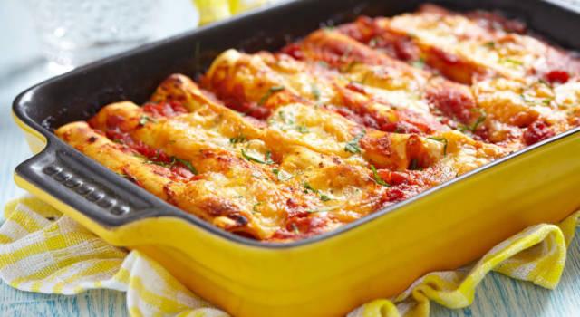 Sfiziosi cannelloni vegan: ragù di soia e besciamella vegetale vi sorprenderanno!