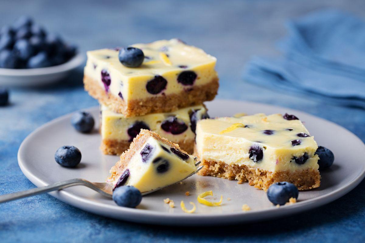 Cheesecake cotta ai mirtilli