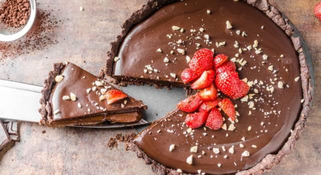 Deliziosa crostata al cioccolato vegana: il dolce che non ti aspetti!