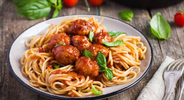 Spaghetti con le polpette vegan, la rivisitazione di un classico