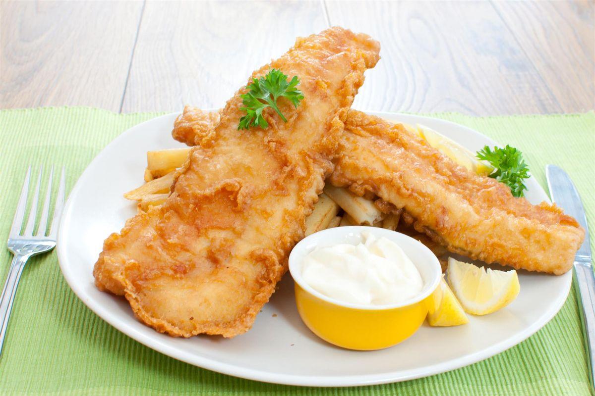 salmone fritto