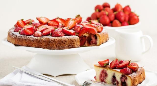 Torta alle fragole: semplice e golosa!