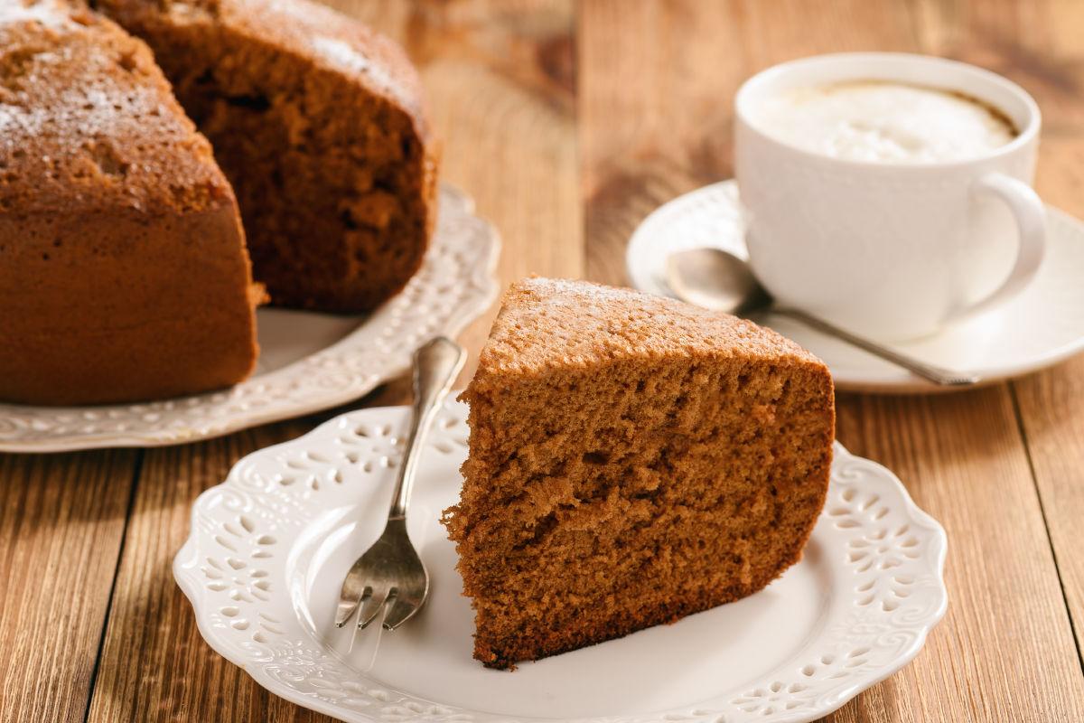 Torta al caffè senza glutine
