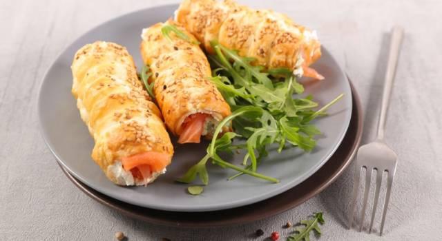 Cannoli salati con pasta sfoglia: un'idea diversa per l'antipasto