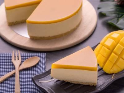 La cheesecake al mango è buonissima, soprattutto con la ricetta vegan!