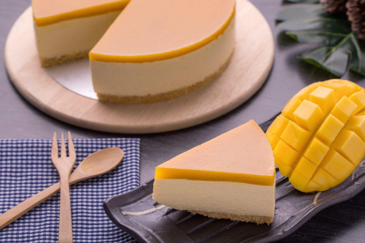cheesecake al mango veg