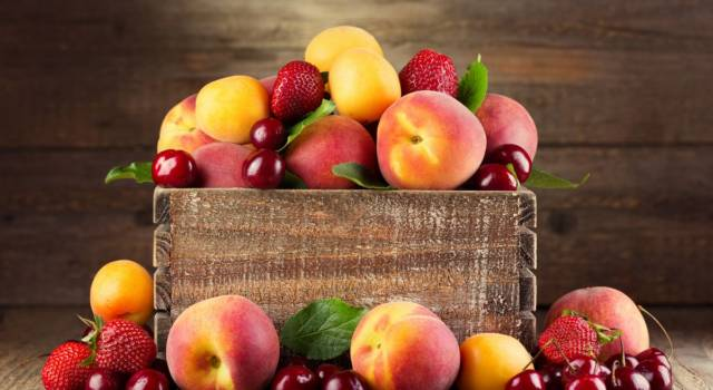 Frutta e verdura di stagione in estate: ecco l'elenco completo!