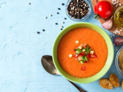 La ricetta del gazpacho, la zuppa fredda direttamente dalla Spagna!