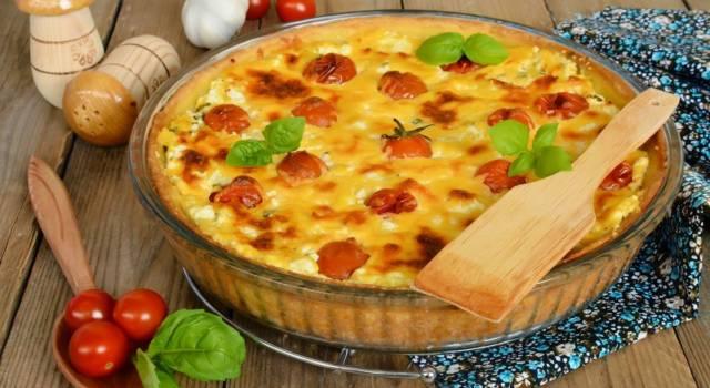 Rustico e saporito: ecco la ricetta del tortino di patate alla pizzaiola