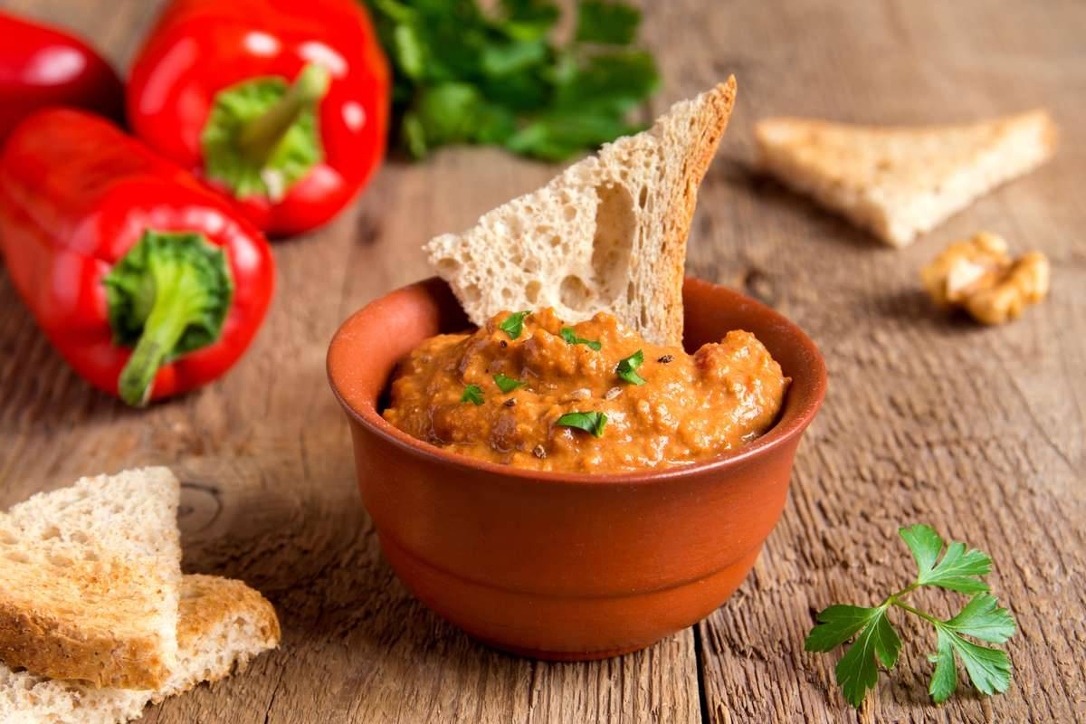 Hummus di pomodori secchi