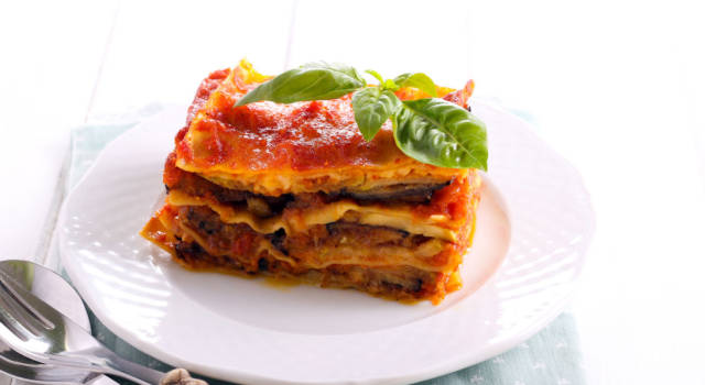 Cremose e ricche di sapore, ecco le lasagne con melanzane