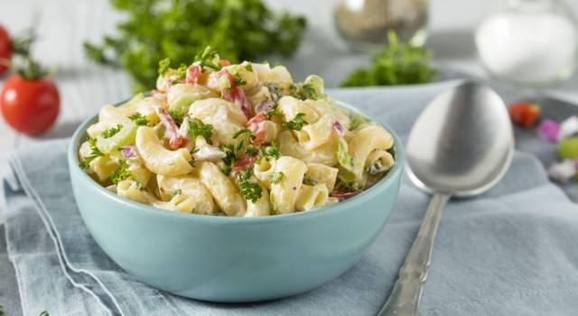 Macaroni salad, l'insalata di pasta all'americana