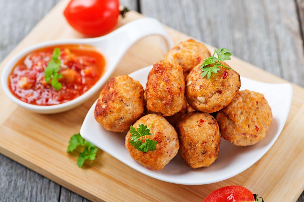 Polpette di pollo senza glutine