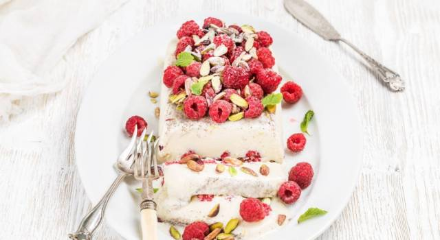 Semifreddo allo yogurt: il dolce veloce che non vi aspettate