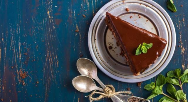 Torta al cioccolato e menta, un dolce profumato!