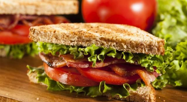 Blt sandwich: il panino sfizioso direttamente dall'America