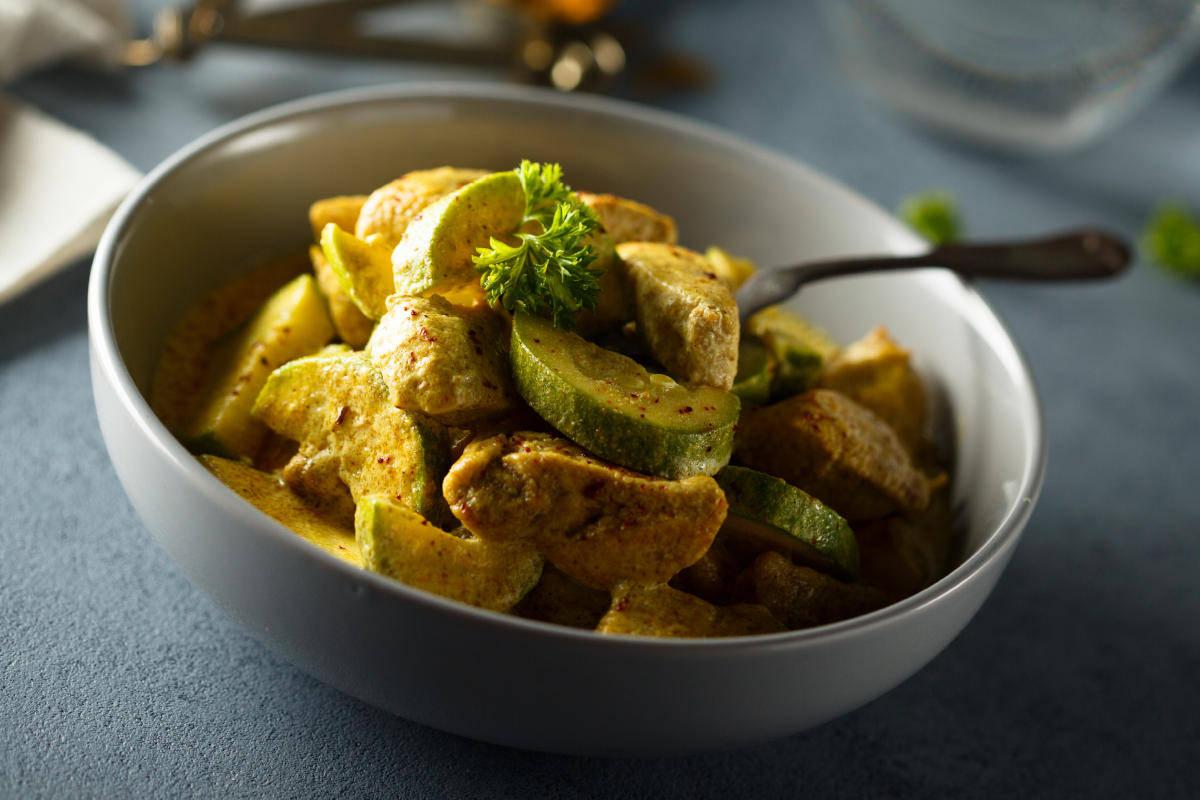 Zucchine al curry