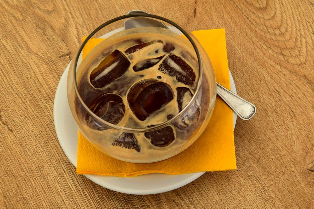 caffè leccese con ghiaccio
