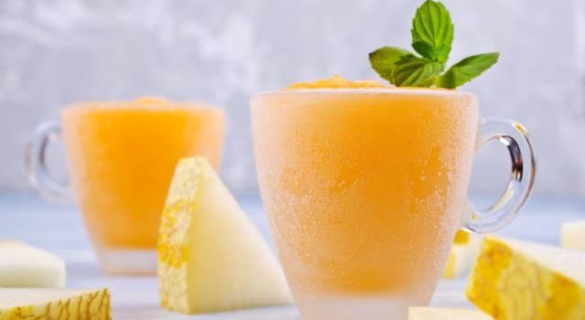 Sorbetto al melone, cremoso e freschissimo: ecco come si prepara!