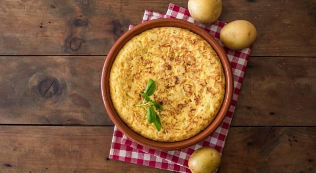 Come fare una frittata di patate al forno perfetta? Ecco la ricetta!