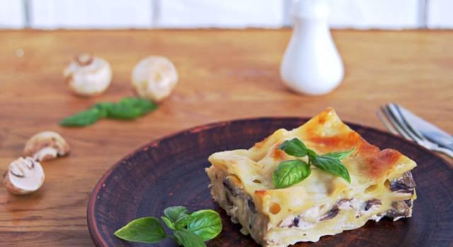Lasagne ai funghi senza glutine: uguali alla ricetta originale!
