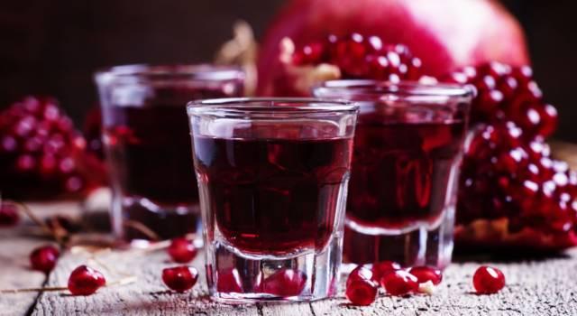 Liquore al melograno fatto in casa: la ricetta per un ottimo digestivo