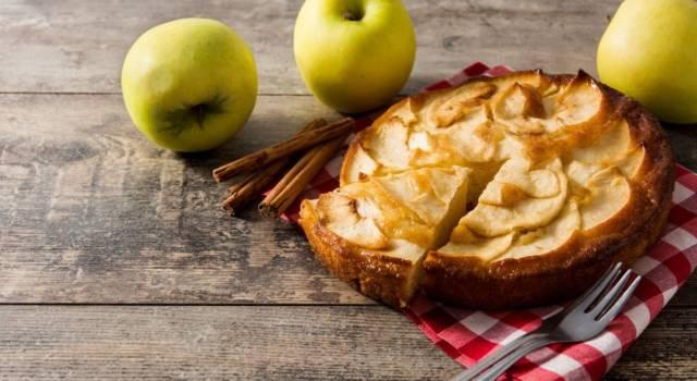 Torta di mele, soffice e buona come la fa la nonna!