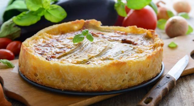 Torta salata con melanzane: una ricetta semplice e golosa!