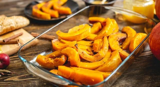 Che profumo d'autunno con la zucca al forno: ecco la ricetta deliziosa