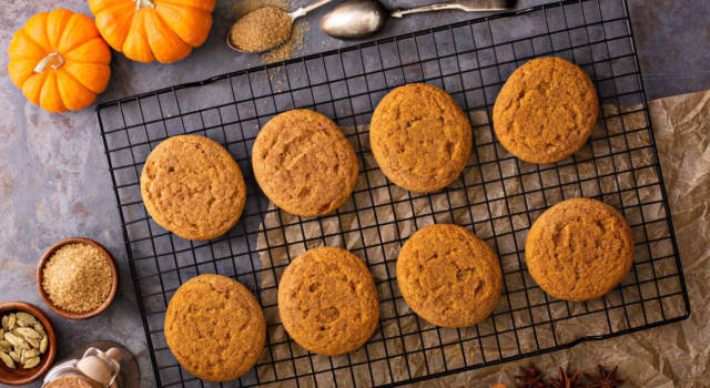 Biscotti alla zucca: buoni… da far paura!