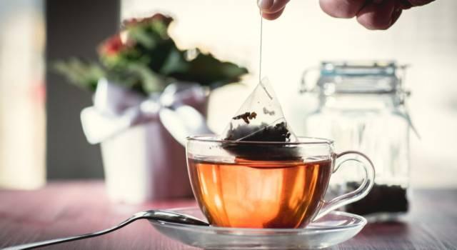 Microplastiche nelle bustine di tè? Scatta l'allarme