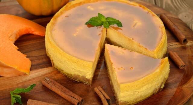 Avete voglia di dolce con la zucca? Provate la nostra cheesecake!