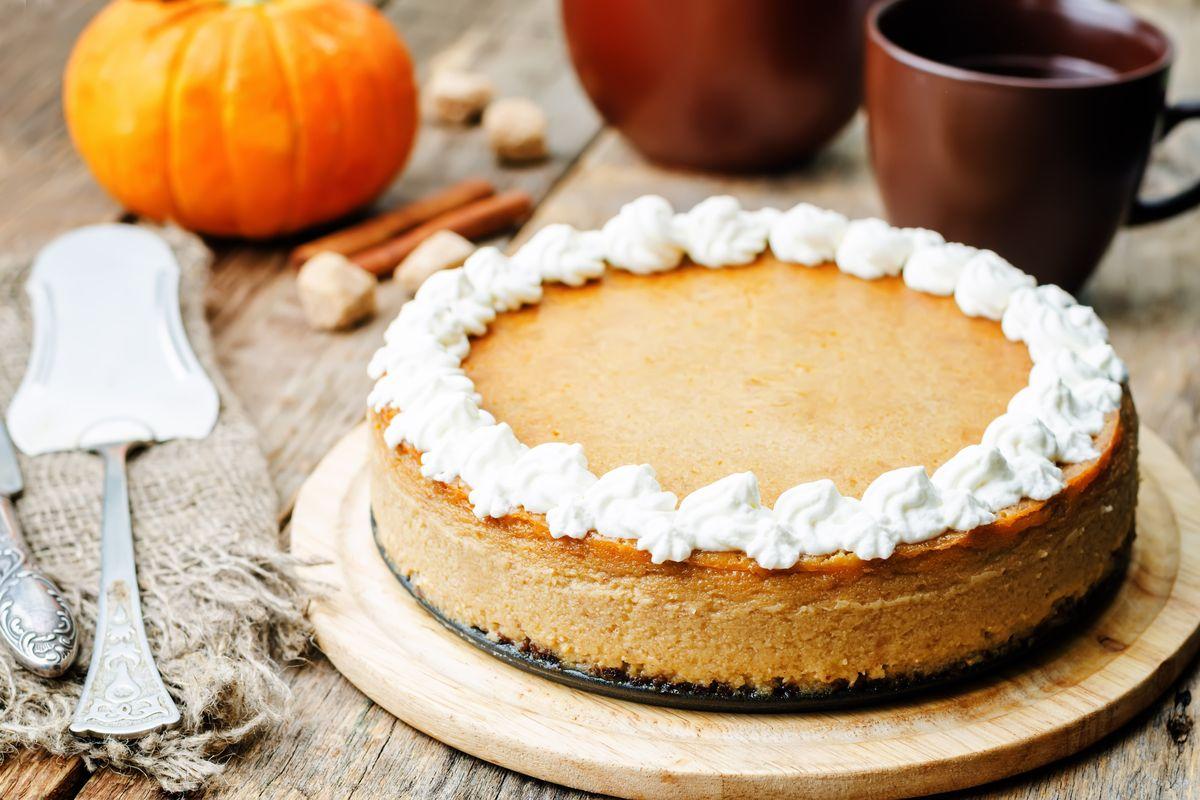 Cheesecake alla zucca senza cottura