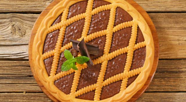 Crostata con crema al cioccolato: semplicemente buonissima!