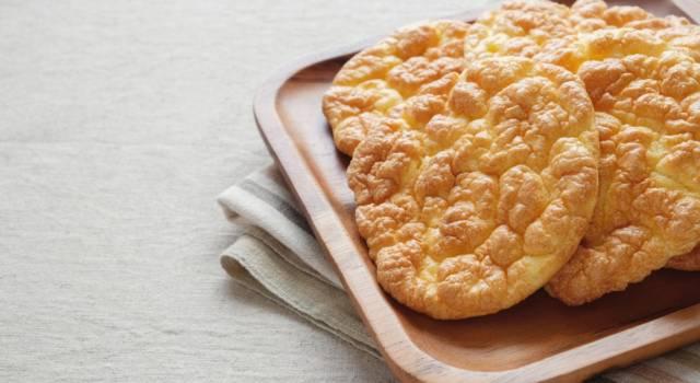 Si chiama pane nuvola, è senza glutine, senza carboidrati ed è facilissimo da preparare