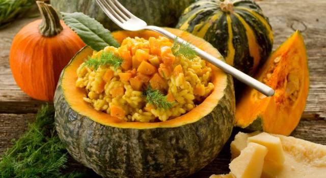 Idee per un pranzo in famiglia? Il risotto alla zucca vi conquisterà!