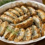 Sono proprio appetitose: ecco come cucinare le sardine al forno gratinate!