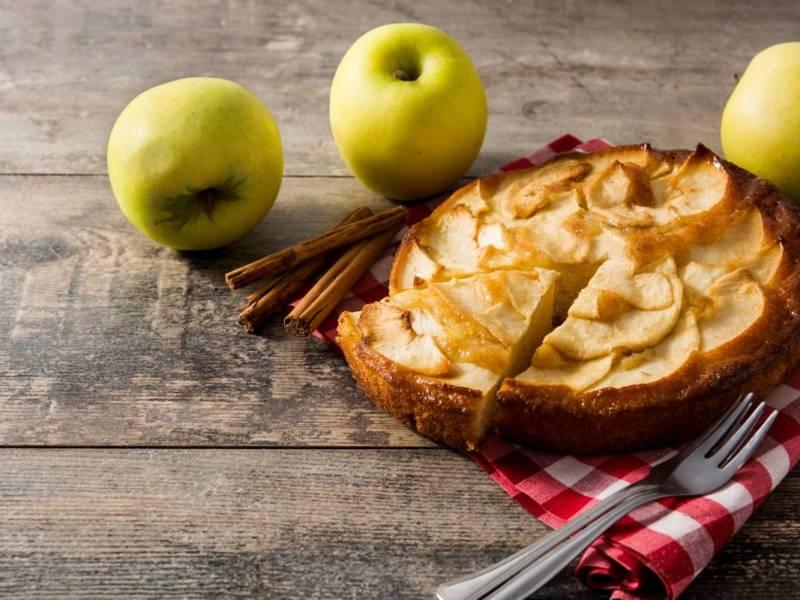 Delicata e 100% veg: è la torta di mele cremosa!