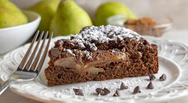 Torta pere e cioccolato, un abbinamento davvero azzeccato!