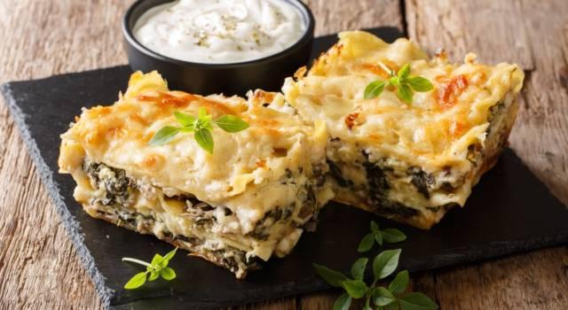 Lasagne vegetariane: talmente buone che vi scorderete quelle tradizionali!